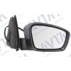Зеркало боковое в сборе (правое, электр., выпуклое + обогрев под покр.) для Skoda Rapid/Seat Toledo 2012+ (Avtm, 186126093)