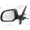 Зеркало боковое в сборе (левое, механич, выпуклое, под покрас.) для Dacia Dokker/Lodgy 2012+ (Avtm, 186137646)