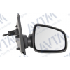 Зеркало боковое в сборе (правое, механич, выпуклое, под покрас.) для Dacia Logan/Sandero 2012-2016 (Avtm, 186138721)