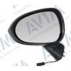 Зеркало боковое в сборе (левое, эл. регул., с подогревом, грунт., выпуклое., 5 Pins) для Seat Ibiza V 2008+ (Avtm, 186139803)