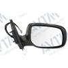 Зеркало боковое в сборе (правое, электр., выпукл., обогрев., грунт.) для Toyota Corolla 2006-2010 (Avtm, 186140040)