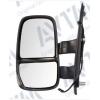 Зеркало боковое в сборе (левое, зеркало слепой зоны, механич., выпукл., обогр.) для Iveco Daily IV 2006-2011 (Avtm, 189201249)