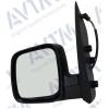 Зеркало боковое в сборе (левое, эл.рег., обогрев.) для Citroen Nemo/Fiat Fiorino/Qubo/Peugeot Bipper 2007+ (Avtm, 189225351)