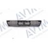 Решетка радиатора (черная с хром рамкой, открытая) для Audi A6 1994-1998 (Avtm, 180013990)