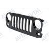 Решетка радиатора (черная) для Jeep Wrangler 2007-2018 (Avtm, 183811990)