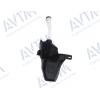 Бачок омывателя (1 отв.под насос, отв.под датчик, насос.) для Chevrolet Cruze/Opel Astra J 2009+ (Avtm, 181711100)