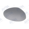 Крышка зеркала (правая, грунт.) для Citroen C1/Peugeot 107/Toyota Aygo 2005-2014 (Avtm, 186312857)
