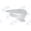Крышка зеркала (левая, с отв. ук. поворот., под покрас.) для Seat Leon 2012+ (Avtm, 186342807)