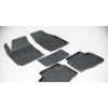 Коврики 3D в салон (резиновые., 5 шт.) для Honda Civic 5D 2012-2016 (Seintex, 84994)
