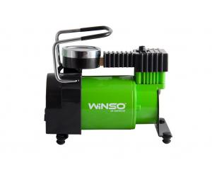 Компрессор Winso (7 Атм, 37 л/мин., 170Вт, кабель 3м., шланг 1м., пласт.накладка) (Winso, 122000)