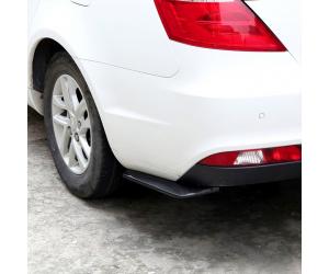 """Накладки на задний бампер (splitter, универсальные """"Carbon"""") (KAI, FL.UNI.CRB)"""