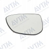 Вкладыш в боковое зеркало (правый, выпукл.) для Citroen C4 Cactus/C-Elysee/Peugeot 301 2012+ (Avtm, 186402871)