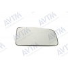 Вкладыш в боковое зеркало (левый, выпукл.) для Opel Movano/Renault Master 2003-2010 (Avtm, 186401905)