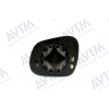 Вкладыш в боковое зеркало (правый, выпукл.) для Seat Altea/Altea Xl 2004+ (Avtm, 186402059)
