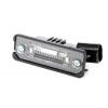 Оригинальный фонарь подсветки номерного знака для Volkswagen/Skoda/Seat (Vag, 3D0943021A)