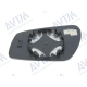 Вкладыш в боковое зеркало (прав., выпукл., с под.) для Ford C-Max/Fiesta/Fusion/Focus/Mondeo 2003+ (Avtm, 186412392)
