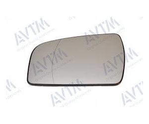 Вкладыш в боковое зеркало (левый, асферич., с подогр.) для Opel Zafira B 2009-2011 (Avtm, 186431445)