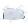 Вкладыш в боковое зеркало ( левый, выпукл., с подогр.) для Opel Movano/Renault Master 2003-2010 (Avtm, 186431905)