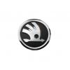 Оригинальная эмблема (шильдик, черный) для Skoda Octavia/Fabia/Rapid/Superb/Roomster (Vag, 5J0853621AAUL)