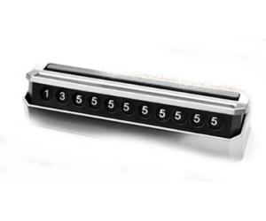 "Автовизитка с телефонным номером ""Silver"" (карта парковки) (KAI, JA1906S)"