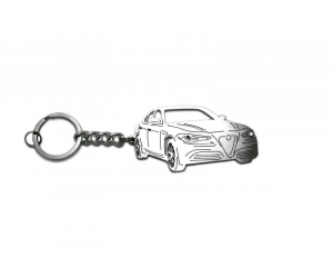 Брелок 3D для ключей Alfa Romeo Giulietta 2016+ (Awa, 3D-AR-GIULIA)