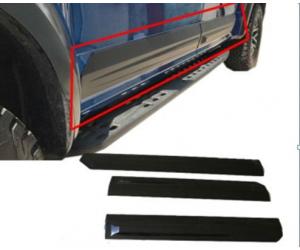 Молдинги на двери (черные, Abs) для Ford F150 (Mk13) 2015+ (Asp, HW-FD-D007)