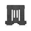 Коврик в салон (с бортиком, задние, черные, 2+3 ряд) для Kia Sedona (8 мест) 2015+ (Weathertech, 447092)