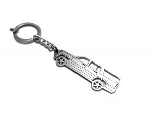 Брелок STEEL для ключей Chevrolet Suburban XI 2015-2020 (Awa, ST-CHEV-SUBU11)
