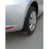 Брызговики оригинальные (зад., к-кт, 2 шт.) для Seat Leon 5d 2013+ (Vag, 5F0075101)