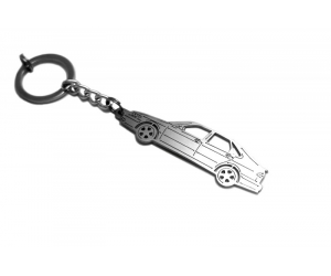 Брелок STEEL для ключей Saab 9-3 I 1998-2002 (Awa, steel-saab-93-1)