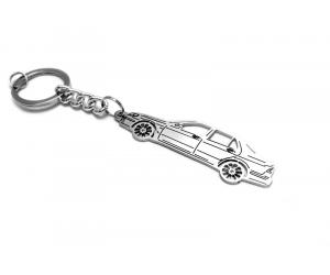 Брелок STEEL для ключей Saab 9-5 I 1997-2010 (Awa, steel-saab-95-1)