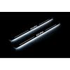 Накладки на пороги (Static, перед., с Led подсветкой) для Acura RDX II 2012-2018 (OPdesign, DHLS-STA-AC-RDX2)