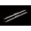 Накладки на пороги (Static, с Led подсветкой) для Chrysler 300C I 2005-2010 (OPdesign, DHLS-STA-CHR-300C1-300C)