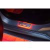 Накладки на пороги (Static, зад., с Led подсветкой, R/T) для Dodge Durango III 2011+ (OPdesign, DHLS-STA-DOD-DUR-3-RT-Z)