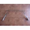 Оригинальный молдинг решетки радиатора (верхний, хром) для Lexus RX 2015+ (Toyota, 53121-48130)