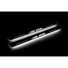 Накладки на пороги (Static, перед., с Led подсветкой) для Land Rover Discovery IV 2009-2016 (OPdesign, DHLS-STA-LR-DISC4-LR)
