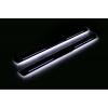 Накладки на пороги (Static, перед., с Led подсветкой) для Lexus LX III 2008+ (OPdesign, DHLS-STA-LEX-LX3)