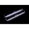 Накладки на пороги (Static, с Led подсветкой) для Vauxhall Astra VII 2015+ (OPdesign, DHLS-STA-OP-AST-K)