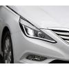 Передняя альтернативная оптика (с ДХО) для Hyundai Sonata (YF) 2011+ (Junyan, THY003-V1T2)
