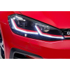 Передняя альтернативная оптика (с Дхо) для Volkswagen Golf 7.5 2017+ (Junyan, VK023-A6WL1-BL7)