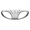 Оригинальная эмблема решетки радиатора (шильдик) для Daewoo Lanos/Sens/Nexia/Espero 1990+ (General Motors, 96303492)