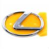 Оригинальная эмблема решетки радиатора (шильдик) для Lexus LX 470/GX 470 1998-2007 (Toyota, 90975-02050)