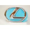 Оригинальная эмблема решетки радиатора (шильдик) для Lexus LX 570/GX 460 2009+ (Toyota, 90975-02115)
