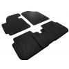 Коврики в салон (EVA, чёрные, 5шт) для Hyundai Elantra 2011-2015 (Avtm, BLCEV1219)