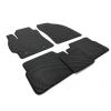 Коврики в салон (EVA, чёрные, 5шт) для Toyota Corolla 2007-2013 (Avtm, BLCEV1621)