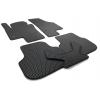 Коврики в салон (EVA, чёрные, 5шт) для Volkswagen Jetta 2010+ (Avtm, BLCEV1667)