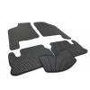 Коврики в салон (EVA, чёрные, 5шт) для ВАЗ 2109/21099 1987-2011 (Avtm, BLCEV1714)