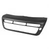 Накладка переднего бампера (темно-серая, текстура) для Kia Soul 2012-2013 (Avtm, 184022920)