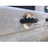 Накладки под дверные ручки (мыльницы) для Volkswagen Transporter (T5) 2010-2015 (Carmos, car0339)