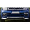 Защита переднего бампера (Arrow Plus Chrome, Vegas) для Volkswagen Amarok 2010-2017 (Arpplus, PST17AM10)